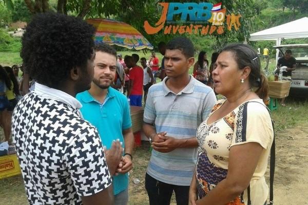 Coordenador Estadual do PRB Juventude Bahia visita zona rural de Nazaré