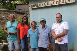 Ilma Santos visita Museu Quilombola em Rio Formoso