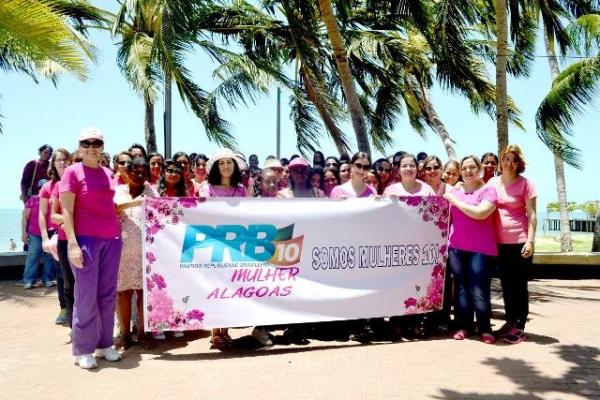 PRB realiza caminhada da mulher em Maceió