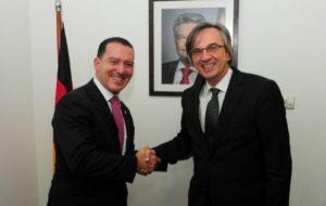 Vinicius Carvalho recebe convite para conhecer sistema de segurança da Alemanha