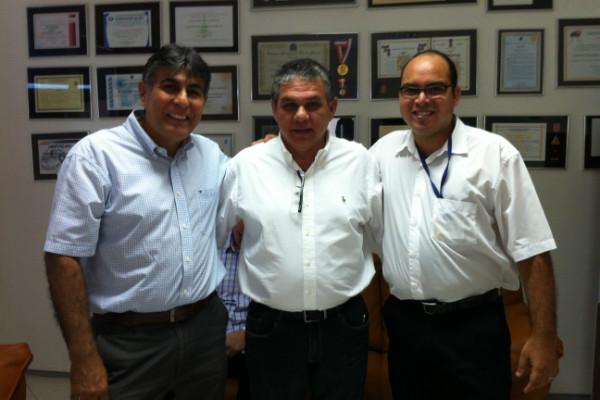 Presidente do PRB-PE recebe Fernando Urquiza