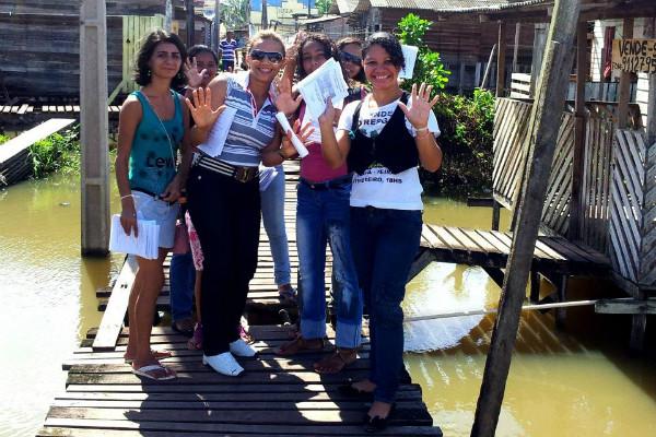 PRB Mulher Amapá participa de ação social no Bairro do Zerão em Macapá