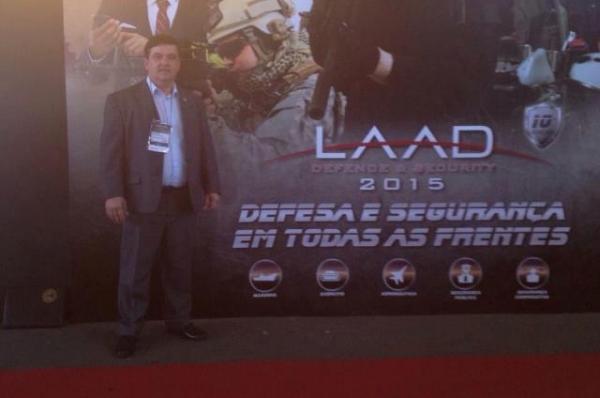 José Freitas participa da Feira Internacional de Defesa e Segurança