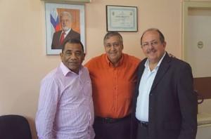 Nova diretoria do HGCA recebe visita do deputado Arimatéia