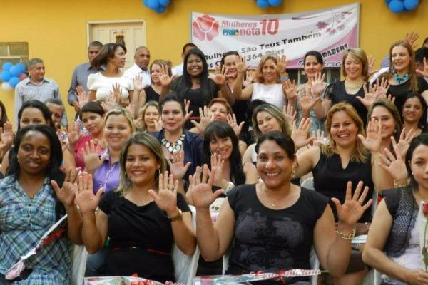 Posse da nova presidenta do PRB Mulher Goiás