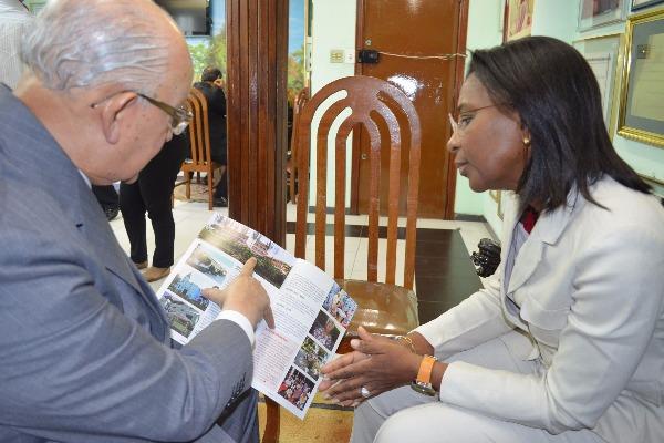 Visita à instituição filantrópica no Rio de Janeiro