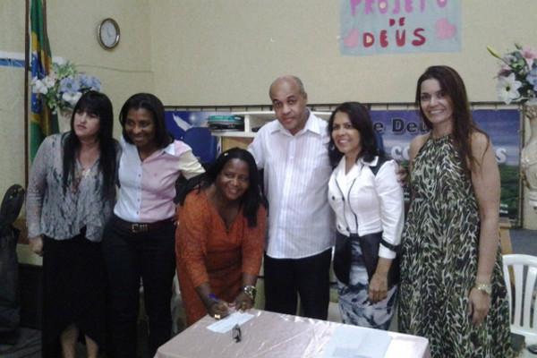 PRB Mulher Volta Redonda empossa presidente