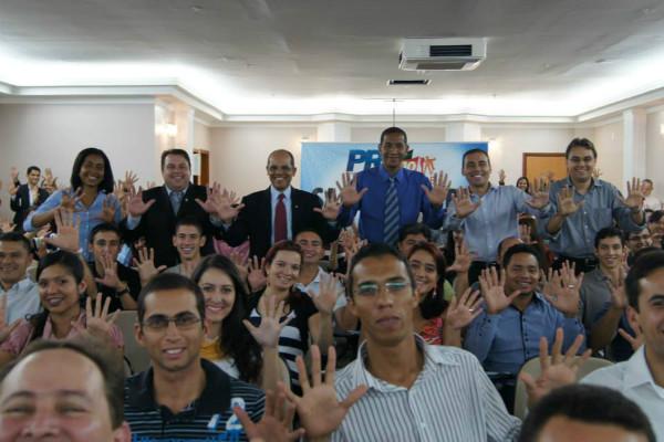 Juventude republicana sabatina lideranças do PRB em Brasília