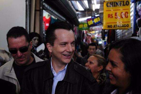 Russomanno ouve queixas de vendedores em São Paulo