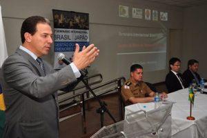 Muniz em Seminário Internacional sobre tremores de terra