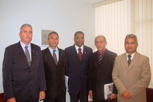 Marinho recebe visita de Subtenentes e Sargentos