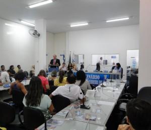 José de Arimateia participa de audiência pública sobre saúde da mulher em Serrinha (BA)
