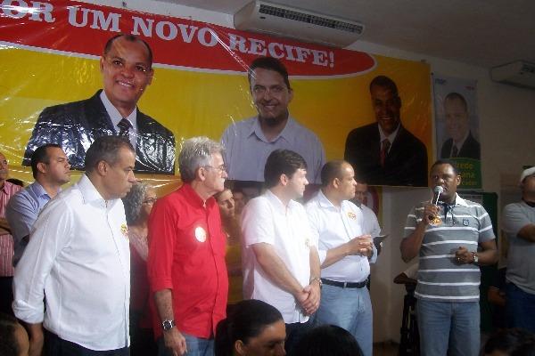 PRB apoia candidatura de Geraldo Júlio