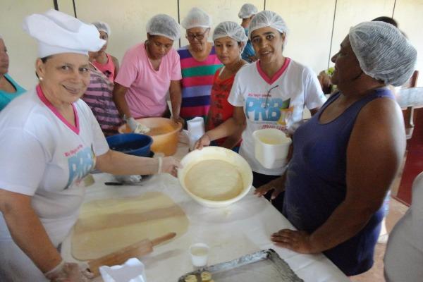 PRB Mulher-MS oferece curso de culinária