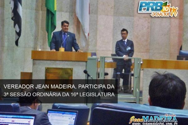 Jean Madeira defende união em favor da juventude