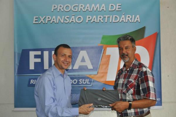 Premiação gaúcha por maior número de filiações