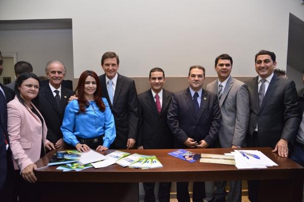 30_10_13_Pereira empossa vice presidente nacional do PRB