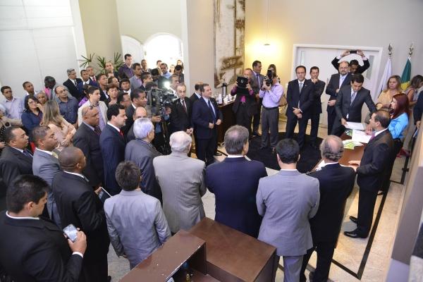 Marcos Pereira empossa novo presidente no DF