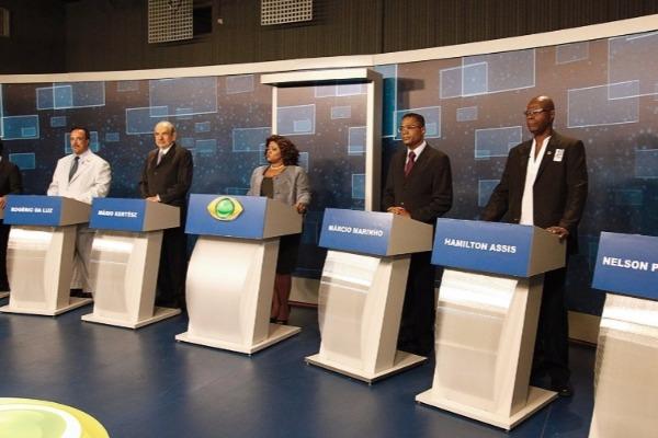 Márcio Marinho se destaca em debate ao vivo na TV