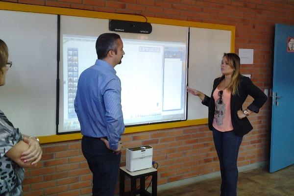 Séfora Mota participa de abertura do ano letivo na rede municipal