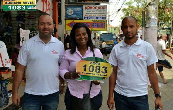 Candidata Adriana Neves visita município de Carapicuíba
