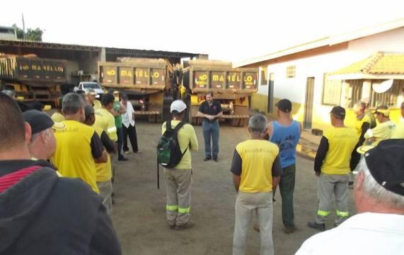 Candidato Kleber Leite defende classe trabalhista em Limeira