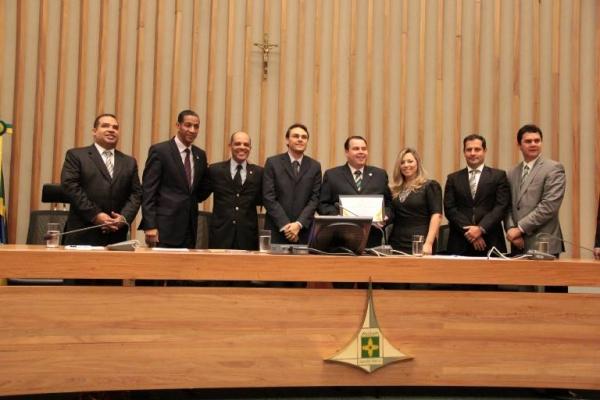 Julio Cesar Ribeiro recebe título de cidadão brasiliense