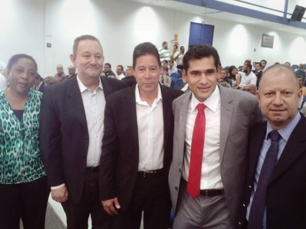 Vereador Betinho toma posse na Câmara Municipal de Campo Grande
