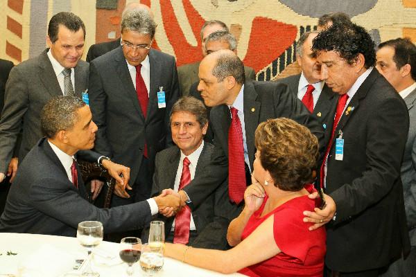 Presidente do PRB participa de almoço em homenagem a Barack Obama