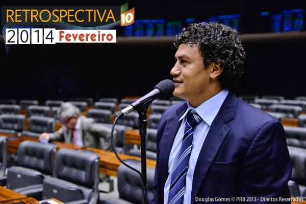 Popó garante mais de R$ 8 milhões em emendas para Salvador, em fevereiro de 2014
