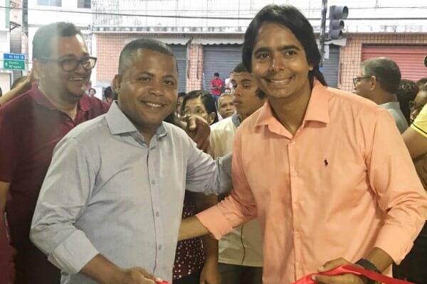 Adailton Sales participa da inauguração de unidade de saúde em Candeias