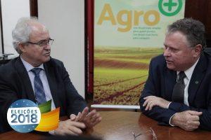 Candidato ao Senado, Sachetti recebe o apoio do ministro Blaio Maggi