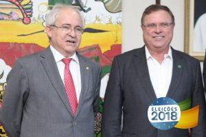 """""""Vote Adilton Sachetti! Vote 100! """", pede Blairo Maggi aos eleitores de Mato Grosso"""