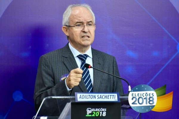 Sachetti debate desarmamento e aborto na TV Brasil Oeste