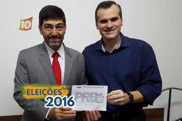 Liderança jovem da Igreja Quadrangular se filia ao PRB de São Paulo