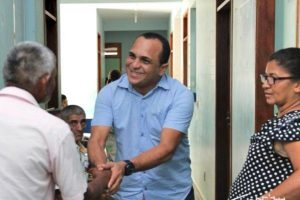 Alan do Povão visita postos de saúde e ouve demandas da comunidade em Boa Vista