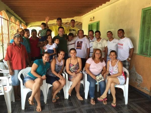 Alan Rick visita comunidades da zona rural de Rio Branco