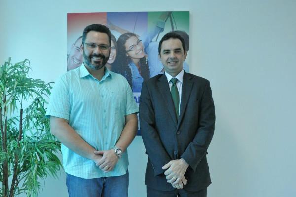 Alan Rick visita CIEE em Rio Branco (AC) e debate ações do programa Jovem Aprendiz