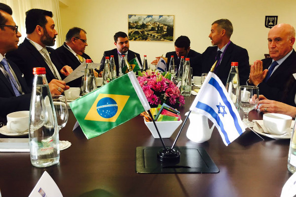 Alan Rick conhece novas tecnologias da indústria da Segurança de Israel