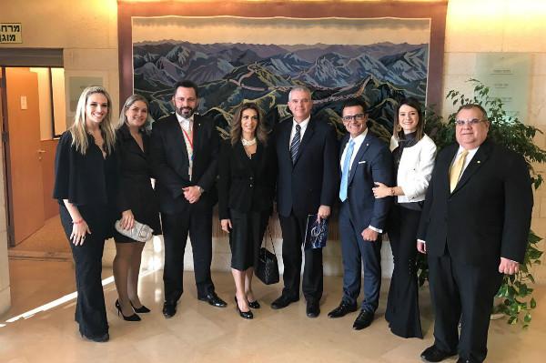 Alan Rick destaca importância histórica das relações entre Brasil e Israel