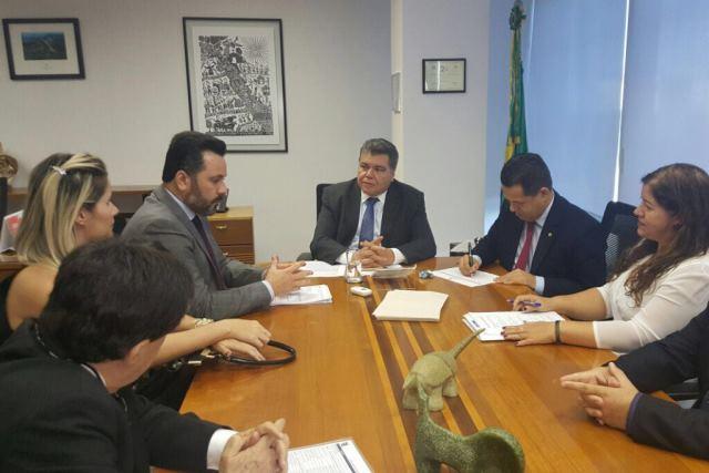 Alan Rick e representantes da FIEAC e CNI abrem diálogo com novo ministro do Meio Ambiente