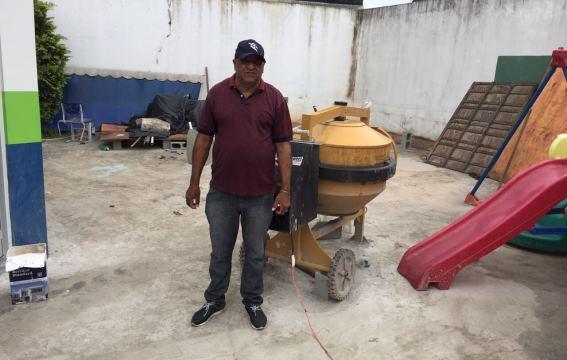 Vereador Alcides Esquisito visita o Centro Educacional Ho Deh Kong