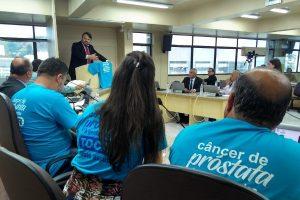 """Aldinei Potelecki destaca a importância da campanha """"Novembro Azul"""" em Criciúma"""