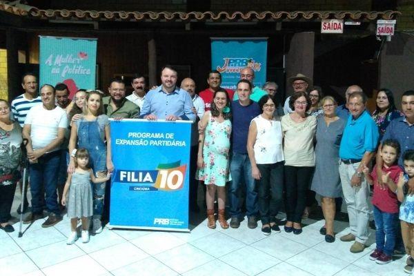 """PRB promove evento """"Filia 10"""" em Criciúma de olho nas eleições 2020"""