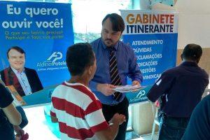Aldinei Potelecki realiza a 1ª edição do Gabinete Itinerante de 2018 em Criciúma