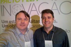 Vereador Potelecki participa do Pacto pela Inovação em Florianópolis