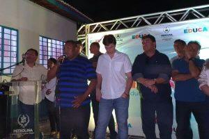 Alex de Jesus participa de inauguração de creche em Petrolina