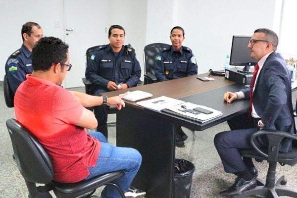 Alex Silva recebe pedido para reformar quartéis e apoio às ações da PM em Rondônia