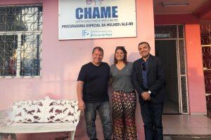Alex Silva visita centro de apoio às mulheres em Roraima