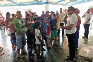 Alex Silva promove ação com recreação para crianças de Cujubinzinho (RO)